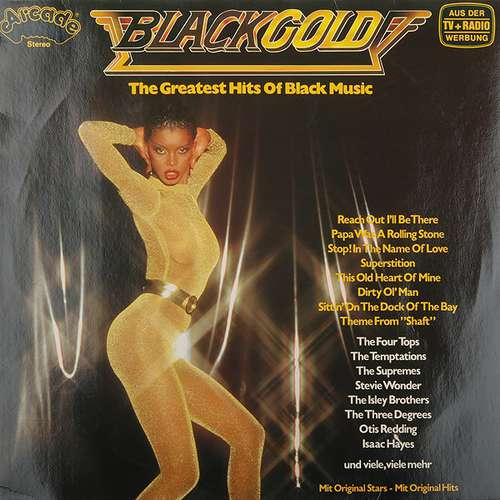 Cover Various - Black Gold - The Greatest Hits Of Black Music (LP, Comp) Schallplatten Ankauf