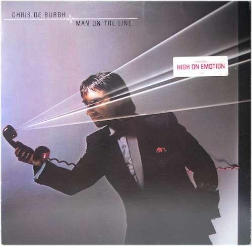 Bild Chris de Burgh - Man On The Line (LP, Album) Schallplatten Ankauf