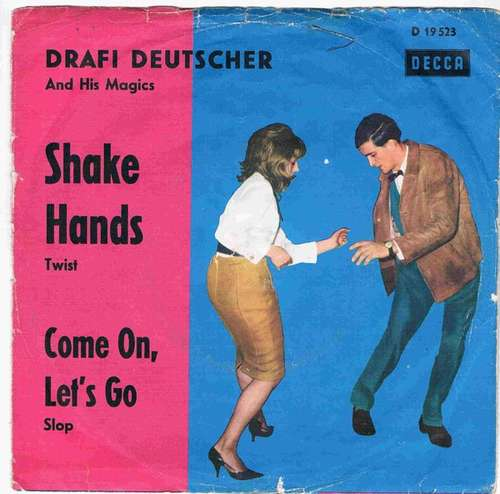 Bild Drafi Deutscher And His Magics - Shake Hands (7, Single) Schallplatten Ankauf