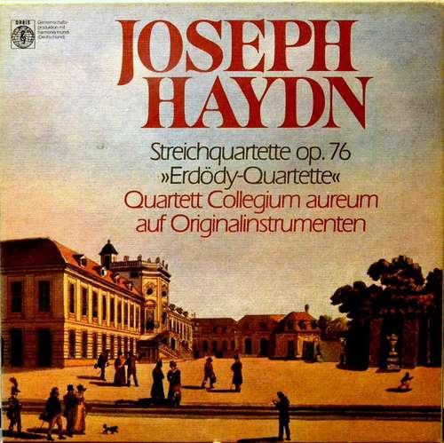 Cover zu Joseph Haydn, Quartett Collegium Aureum - Streichquartette Op. 76 Erdödy-Quartette (3xLP + Box) Schallplatten Ankauf