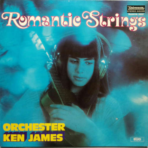 Cover Orchester Ken James - Romantic Strings (LP) Schallplatten Ankauf