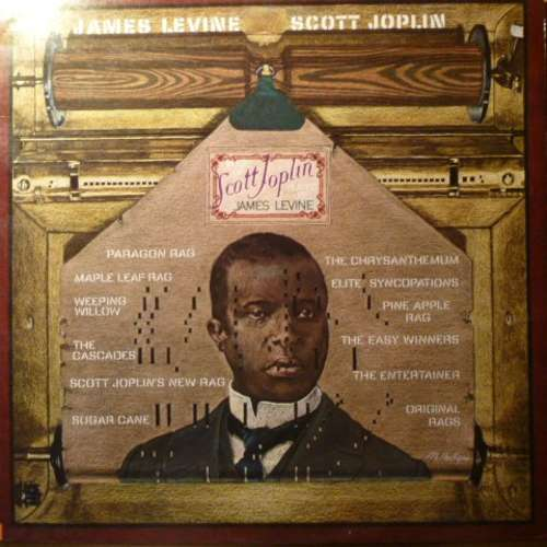Bild Scott Joplin, James Levine (2) - James Levine Plays Scott Joplin (LP, Album) Schallplatten Ankauf