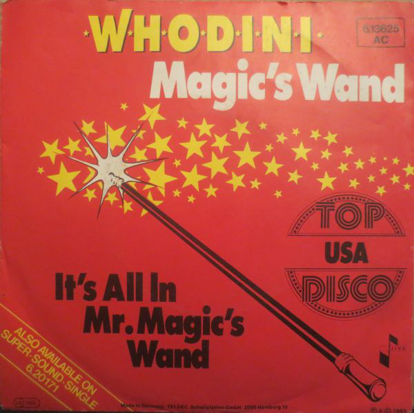 Cover zu Whodini - Magic's Wand (7, Single) Schallplatten Ankauf