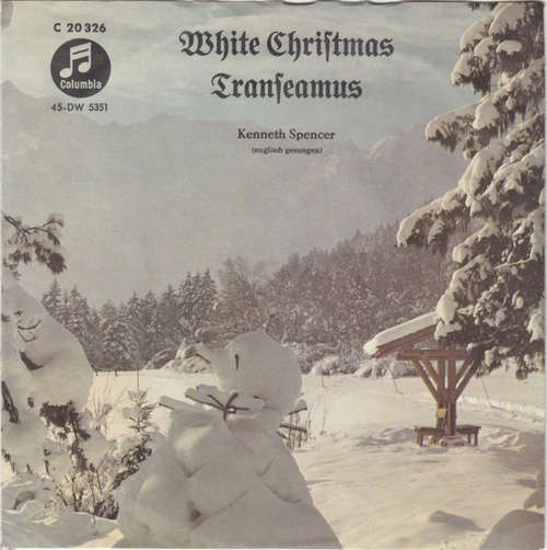 Bild Kenneth Spencer - White Christmas / Transeamus (7, Single) Schallplatten Ankauf