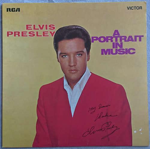 Cover zu Elvis Presley - A Portrait In Music (LP, Comp, RE) Schallplatten Ankauf