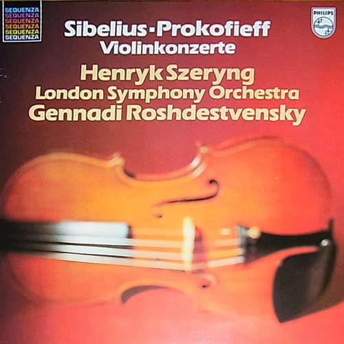 Cover zu Henryk Szeryng, Sibelius* / Prokofieff*, London Symphony Orchestra*, Gennadi Rozhdestvensky - Violinkonzerte (LP, Album, RE) Schallplatten Ankauf