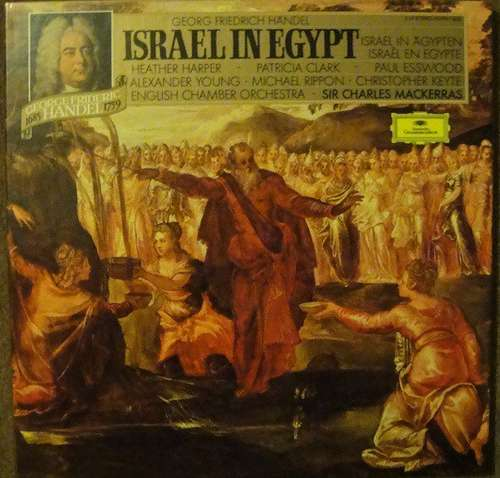 Bild Georg Friedrich Händel, Sir Charles Mackerras, Heather Harper, Patricia Clark (2), Paul Esswood, Alexander Young, Michael Rippon, Christopher Keyte, English Chamber Orchestra - Israel In Egypt (Box + 2xLP, Album, RE) Schallplatten Ankauf