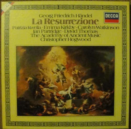 Cover zu Georg Friedrich Händel - Christopher Hogwood, The Academy Of Ancient Music - La Resurrezione (3xLP, Album + Box, Album) Schallplatten Ankauf