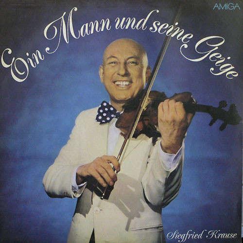 Bild Siegfried Krause - Ein Mann Und Seine Geige (LP, Album, Red) Schallplatten Ankauf