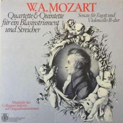 Bild Mozart* - Mitglieder Des Collegium Aureum Auf Originalinstrumenten* - Quartette&Quintette für ein Blasinstrument und Streicher, Sonate für Fagott und Violoncello B-dur (3xLP, Comp + Box, Comp) Schallplatten Ankauf
