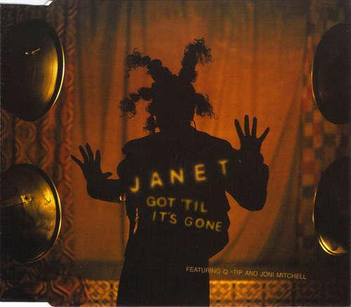 Cover Janet* Featuring Q-Tip And Joni Mitchell - Got 'Til It's Gone (CD, Single, Yel) Schallplatten Ankauf