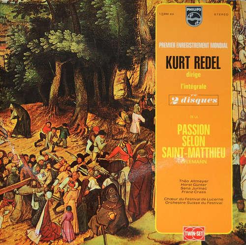 Bild Telemann*, Kurt Redel - Passion Selon Saint-Matthieu (2xLP, Album, Gat) Schallplatten Ankauf