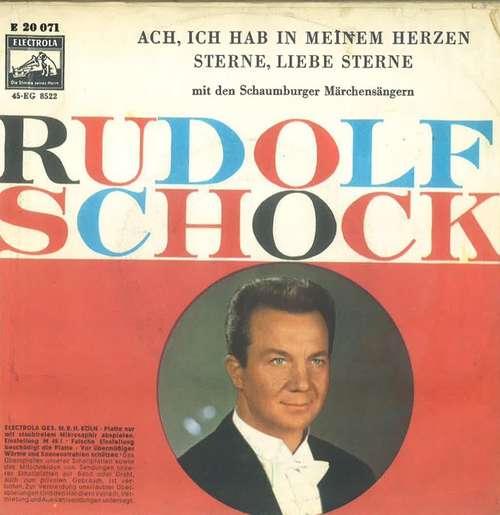 Cover Rudolf Schock - Ach, Ich Hab In Meinem Herzen / Sterne, Liebe Sterne (7, Single) Schallplatten Ankauf