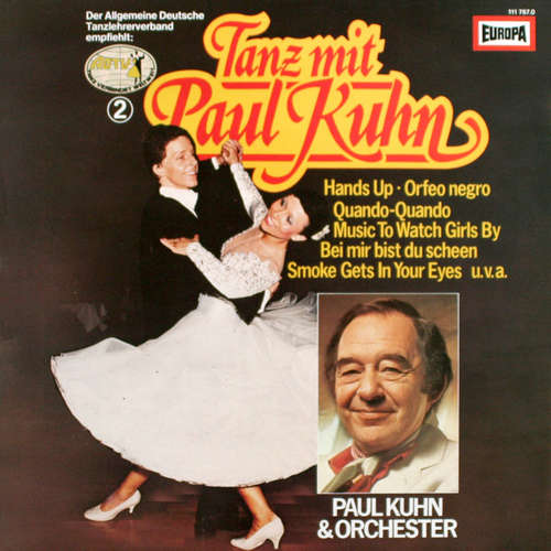 Cover Paul Kuhn & Orchester* / Die Ute Mann Singers* - Tanz Mit Paul Kuhn (2) (LP) Schallplatten Ankauf