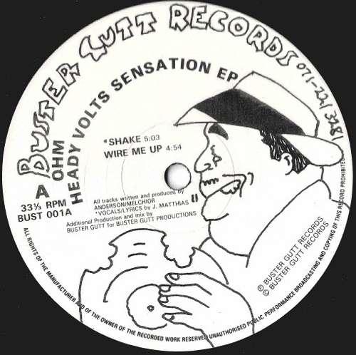 Cover Heady Volts Sensation EP Schallplatten Ankauf
