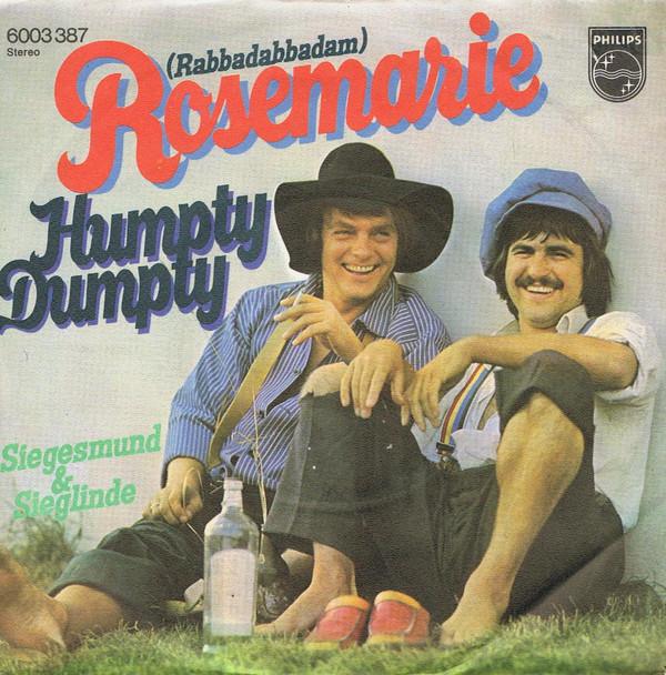 Cover Humpty Dumpty (9) - Rosemarie  (7, Single) Schallplatten Ankauf
