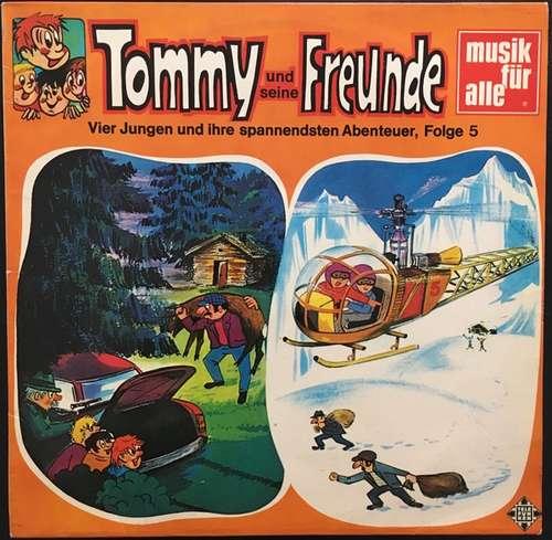 Cover zu Helmut Brennicke, Rudolf Fröhler - Tommy Und Seine Freunde - Vier Jungen Und Ihre Spannendsten Abenteuer, Folge 5 (LP) Schallplatten Ankauf