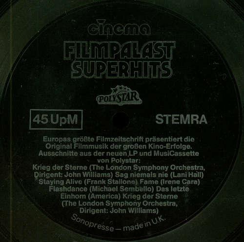 Cover Various - Cinema - Filmpalast Superhits (Flexi, S/Sided, Mixed, Smplr) Schallplatten Ankauf