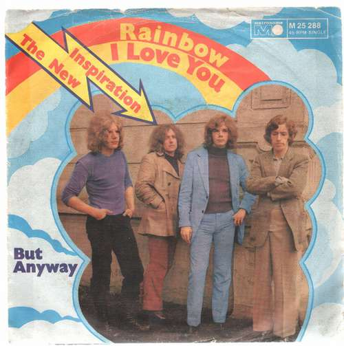 Bild New Inspiration - Rainbow (I Love You) / But Anyway (7, Single) Schallplatten Ankauf