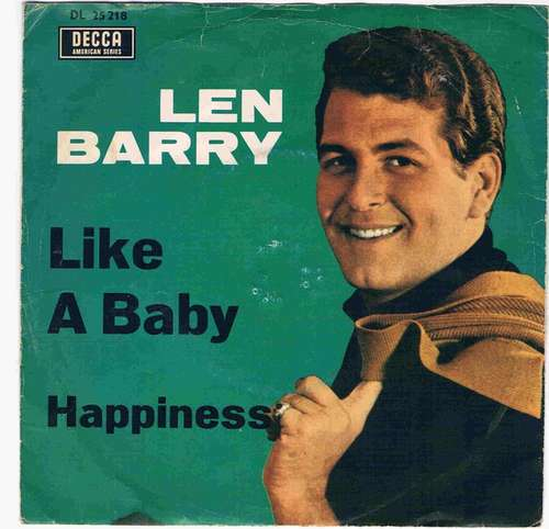 Cover zu Len Barry - Like A Baby / Happiness (7, Single) Schallplatten Ankauf