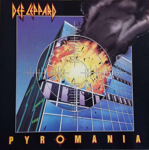 Cover Def Leppard - Pyromania (LP, Album) Schallplatten Ankauf