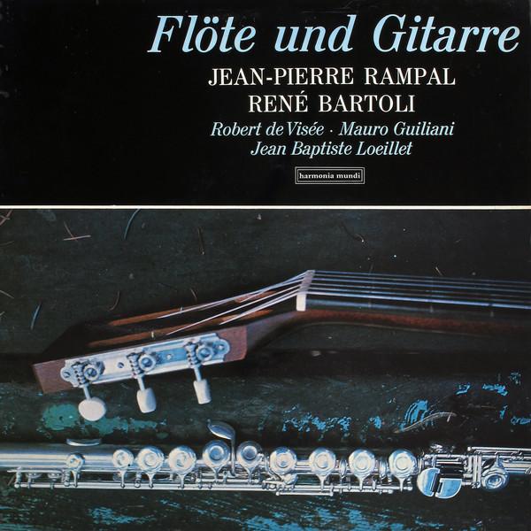 Cover Jean-Pierre Rampal, René Bartoli - Flöte Und Gitarre (LP) Schallplatten Ankauf