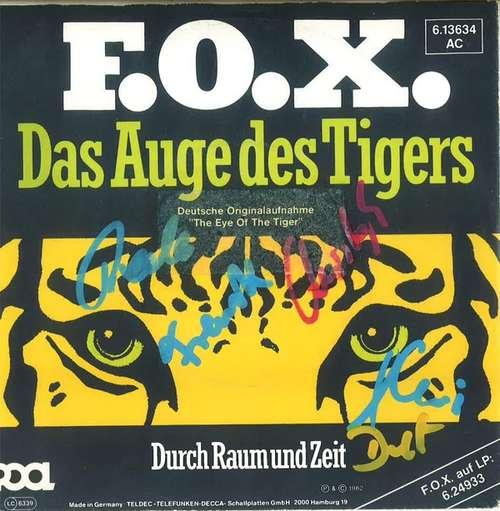 Cover F.O.X. (2) - Das Auge Des Tigers (7, Single, Promo) Schallplatten Ankauf