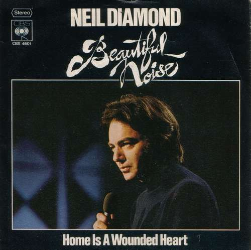 Cover Neil Diamond - Beautiful Noise (7, Single) Schallplatten Ankauf