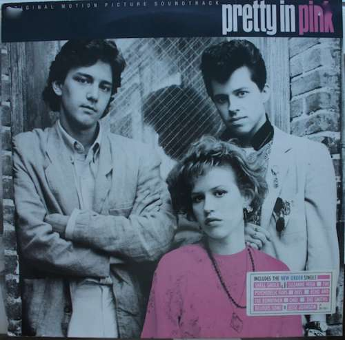 Cover Various - Pretty In Pink (Original Motion Picture Soundtrack) (LP, Comp, Whi) Schallplatten Ankauf