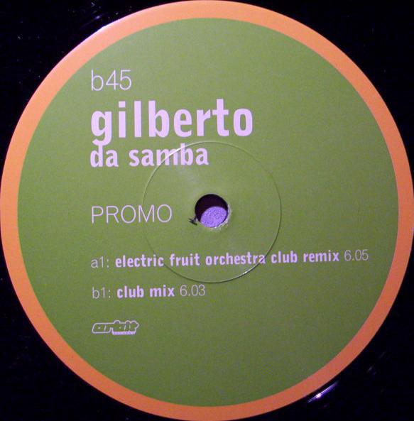 Cover Gilberto - Da Samba (12, Promo) Schallplatten Ankauf