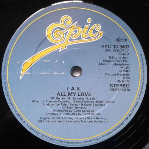 Bild L.A.X. - All My Love (12, Single) Schallplatten Ankauf