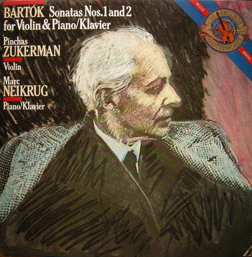 Bild Bartók* - Pinchas Zukerman, Marc Neikrug - Sonatas Nos. 1 And 2 For Violin & Piano/Klavier (LP) Schallplatten Ankauf