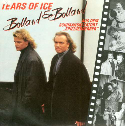 Cover zu Bolland & Bolland - Tears Of Ice (7, Single) Schallplatten Ankauf