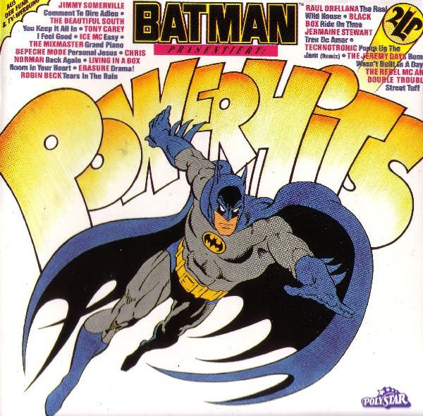 Cover Various - Batman Präsentiert: Powerhits (2xLP, Comp) Schallplatten Ankauf