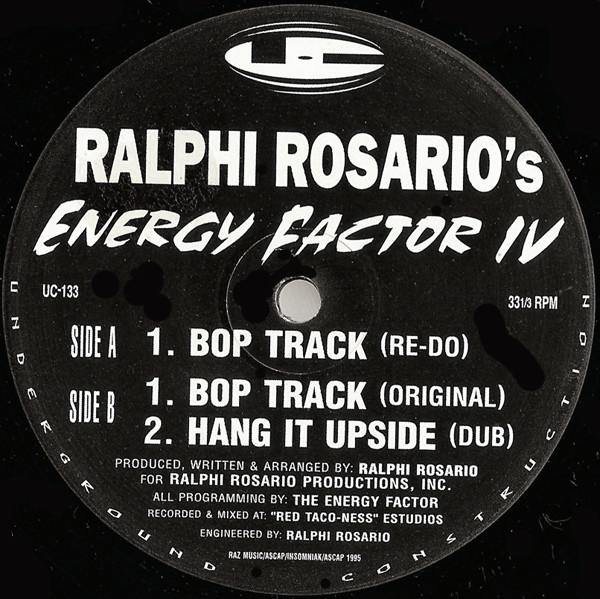 Bild Ralphi Rosario - Energy Factor IV (12) Schallplatten Ankauf