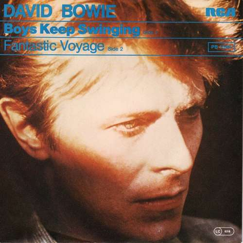 Cover David Bowie - Boys Keep Swinging (7, Single) Schallplatten Ankauf