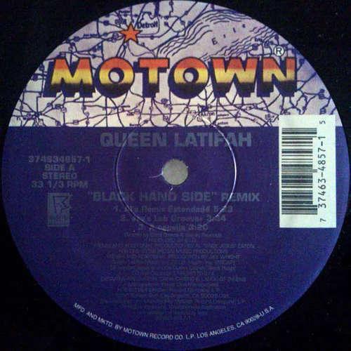 Cover Queen Latifah - Black Hand Side (Remix) (12) Schallplatten Ankauf