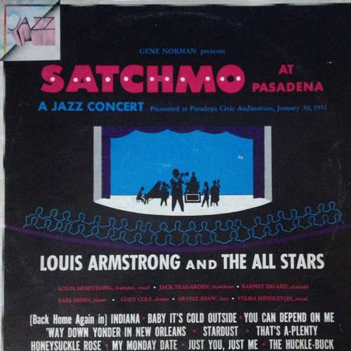 Bild Louis Armstrong And The All Stars* - Satchmo At Pasadena (LP, Album, RE) Schallplatten Ankauf