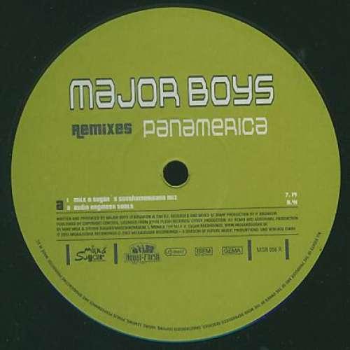 Bild Major Boys - Panamerica (Remixes) (12) Schallplatten Ankauf