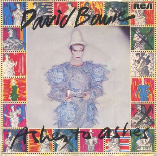 Cover David Bowie - Ashes To Ashes (7, Single) Schallplatten Ankauf