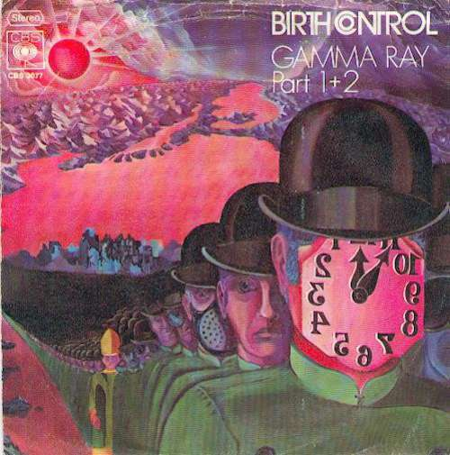 Cover Birth Control - Gamma Ray Part 1+2 (7, Single) Schallplatten Ankauf