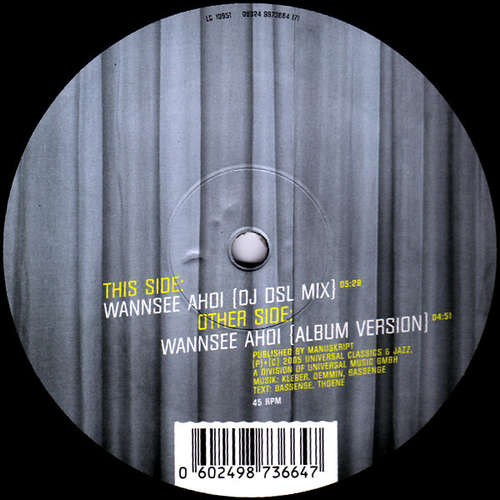Cover Nylon (4) - Wannsee Ahoi (12) Schallplatten Ankauf