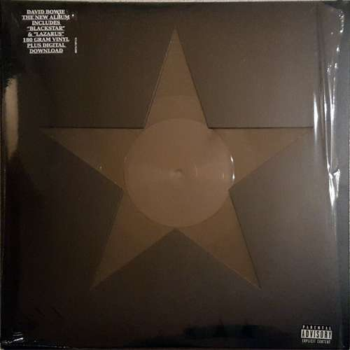 Cover David Bowie - ★ (Blackstar) (LP, Album, RP, Cel) Schallplatten Ankauf