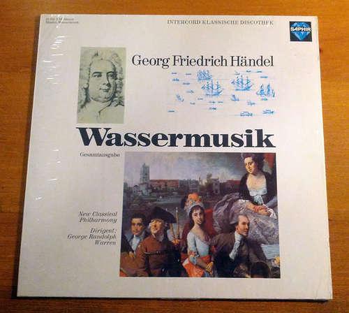 Cover Georg Friedrich Händel by New Classical Philharmony Dirigent: George Randolph Warren - Wassermusik (LP, Album) Schallplatten Ankauf