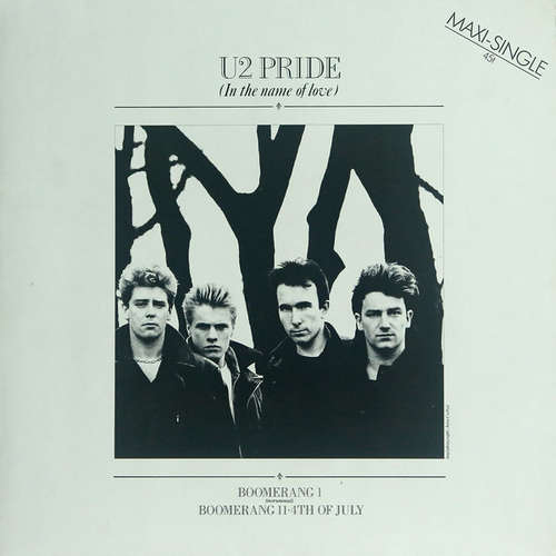 Cover U2 - Pride (In The Name Of Love) (12, Maxi) Schallplatten Ankauf