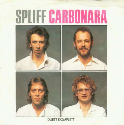 Cover Spliff - Carbonara (7, Single) Schallplatten Ankauf