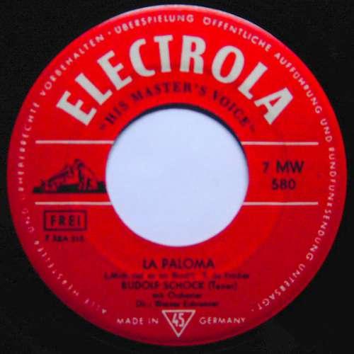 Bild Rudolf Schock - La Paloma / Toselli-Serenade (7) Schallplatten Ankauf