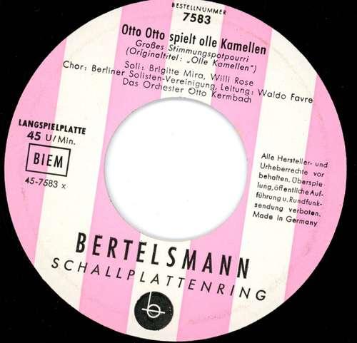 Bild Das Orchester Otto Kermbach* - Otto Otto Spielt Dolle Olle Kamellen (7, EP, Mono, str) Schallplatten Ankauf