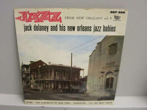 Bild Jack Delaney And His New Orleans Jazz Babies - Jazz From New Orleans Vol. 9 (7, EP) Schallplatten Ankauf