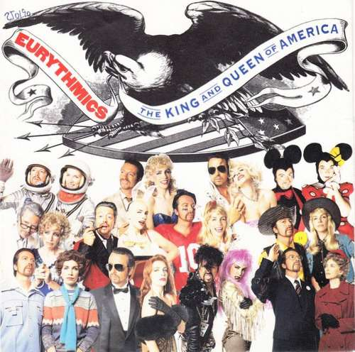 Cover Eurythmics - The King And Queen Of America (7, Single) Schallplatten Ankauf